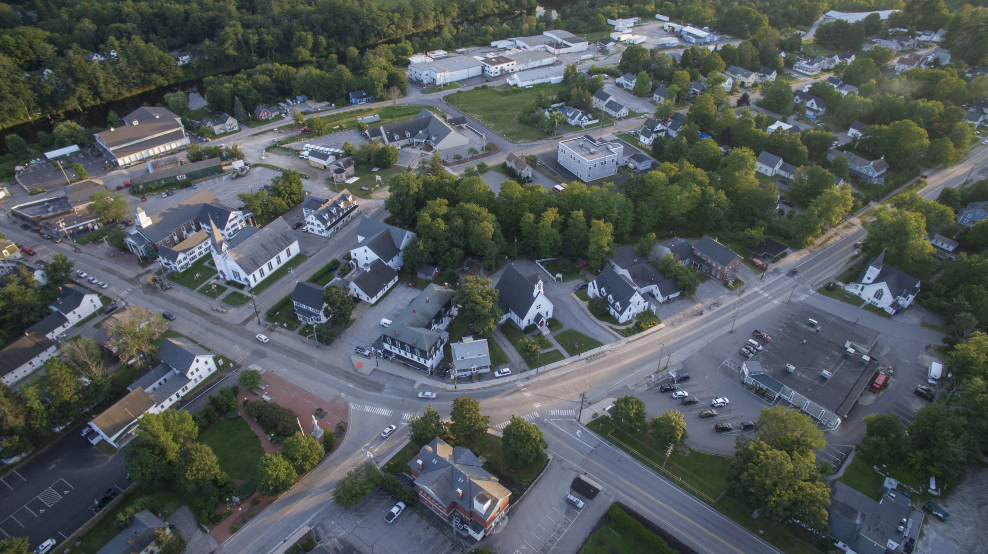 Image of Drone Photography of Goffstown