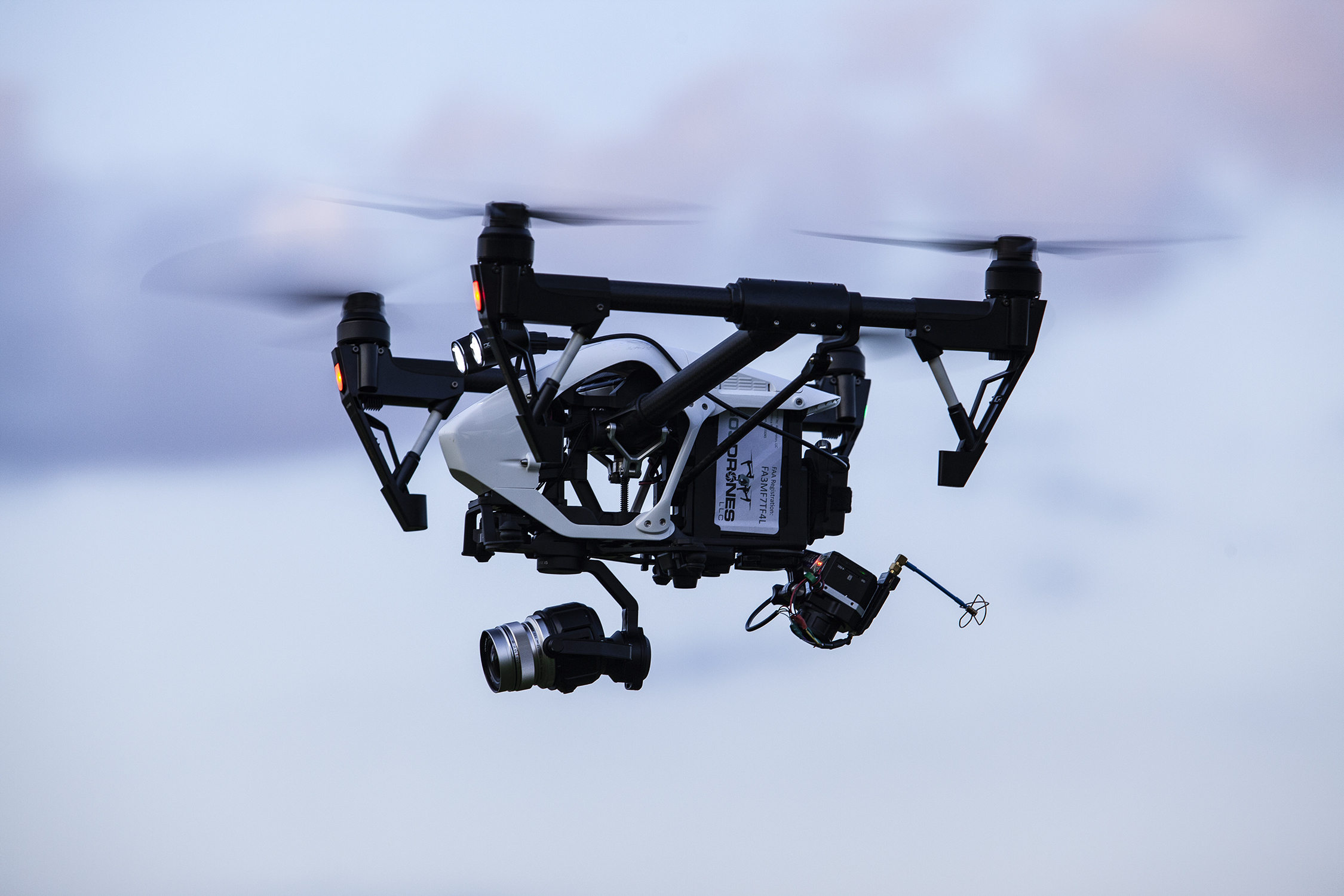 Image of DJI Inspire 1 Pro with Flir