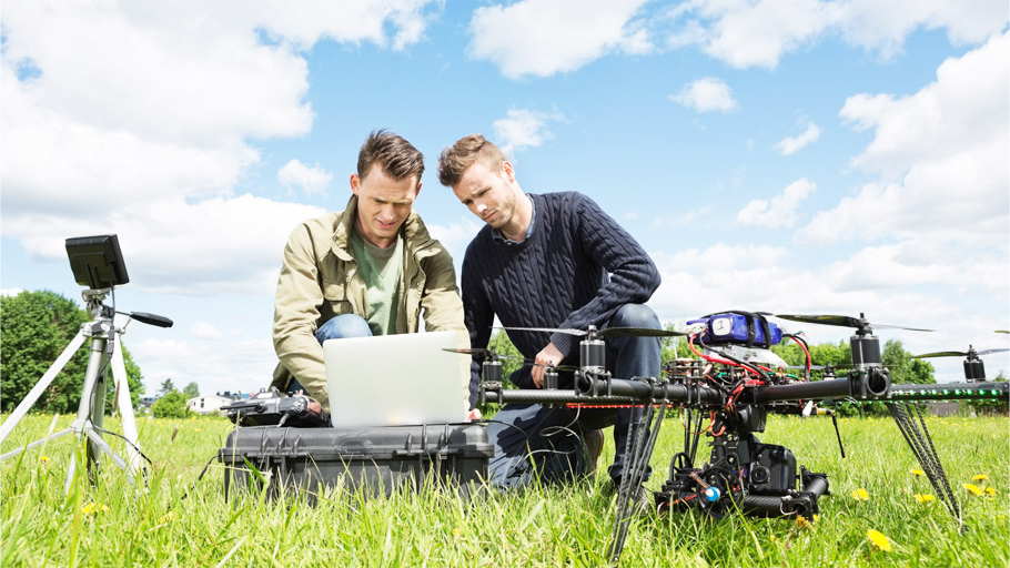 Image of Two Drone Pilots