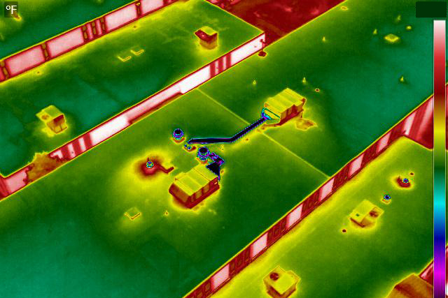 Image of Drone Thermal Imaging