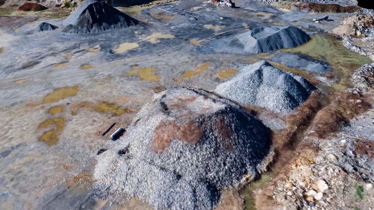 Image of Stockpile Analysis by Drone