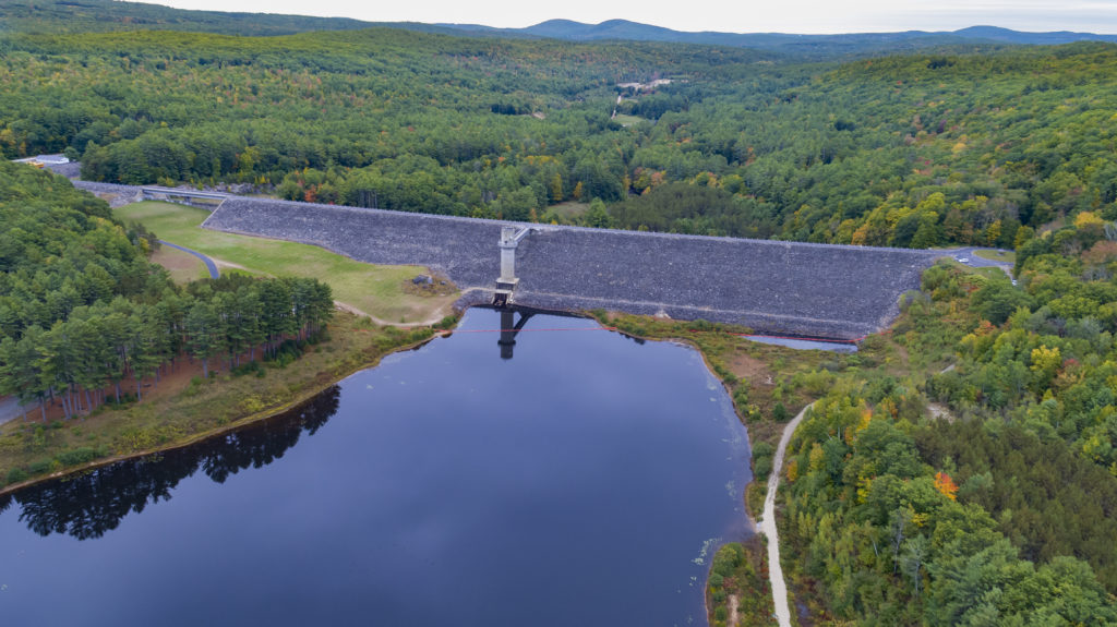 Image of Everett Dam by Drone