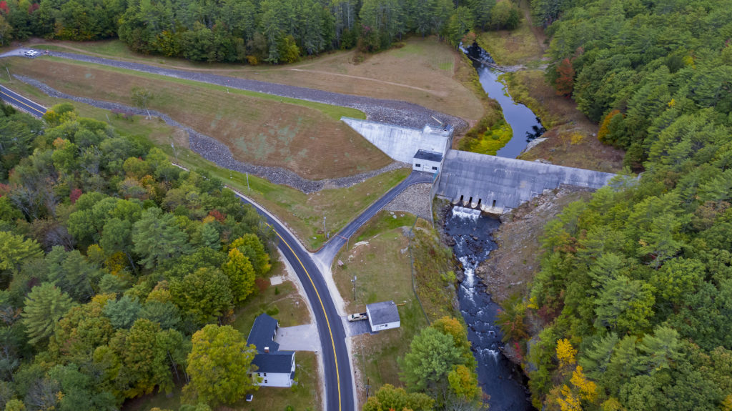 Image of Blackwater Dam by Drone