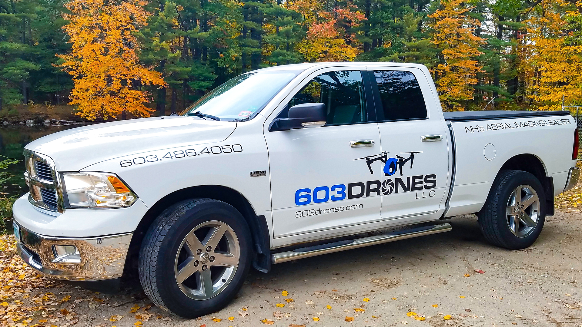 Image of 603 Drones, LLC Company Vehicle